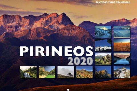 CALENDARIO PIRINEOS 2020 pared